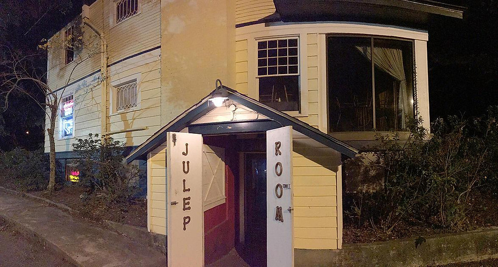 Ouside view of the Julep Room