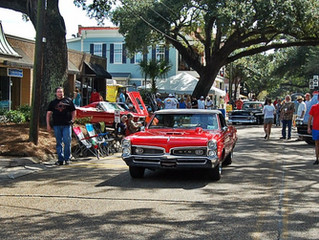 Ocean Springs Cruisin' Music Schedule announced at Rosetti Park - click for complete update!