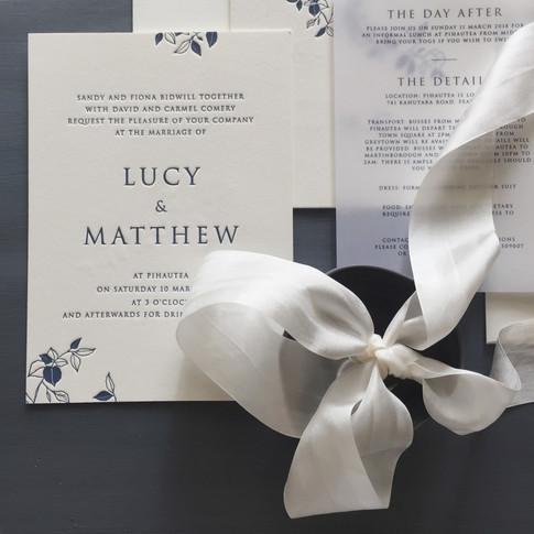 LUCY + MATTHEW