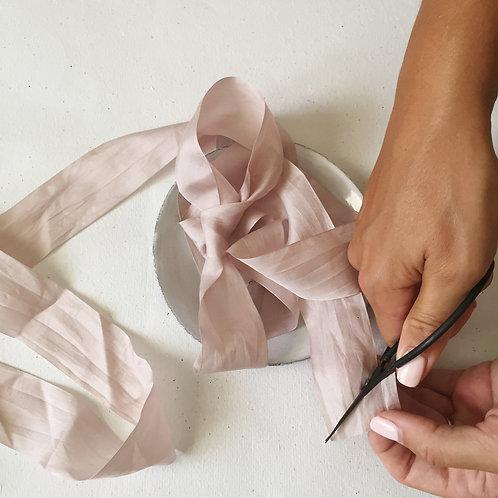 Blush Silk Ribbon