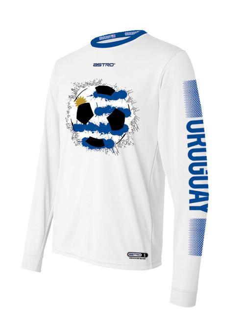 8f9dc638a Uruguay Soccer Long Sleeve Shirt