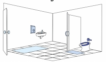 Extensive media coverage of restroom surface study