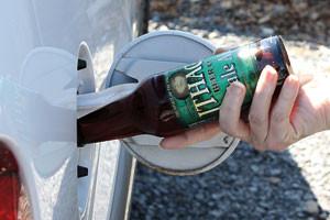 Media coverage of PNAS article on Beer Biofuels