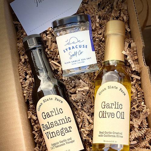 Vinegar/Olive Oil/Salt Gift Set