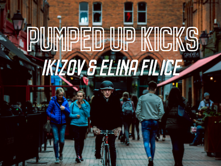 """Elina Filice & Ikizov Team up for Electronic Cover of """"Pumped Up Kicks"""""""