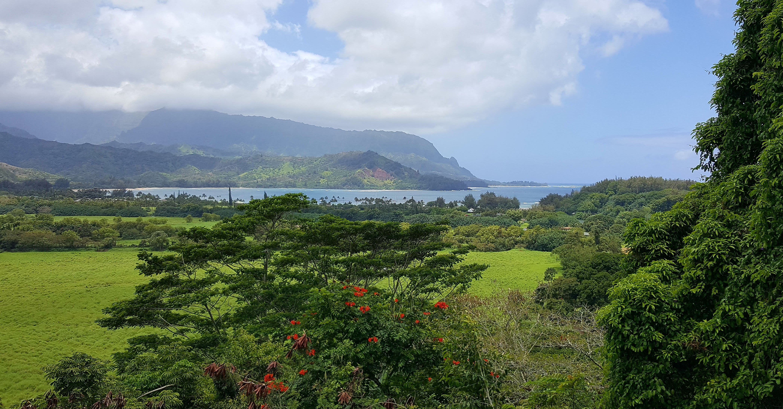 Hanalei Bay minutes away