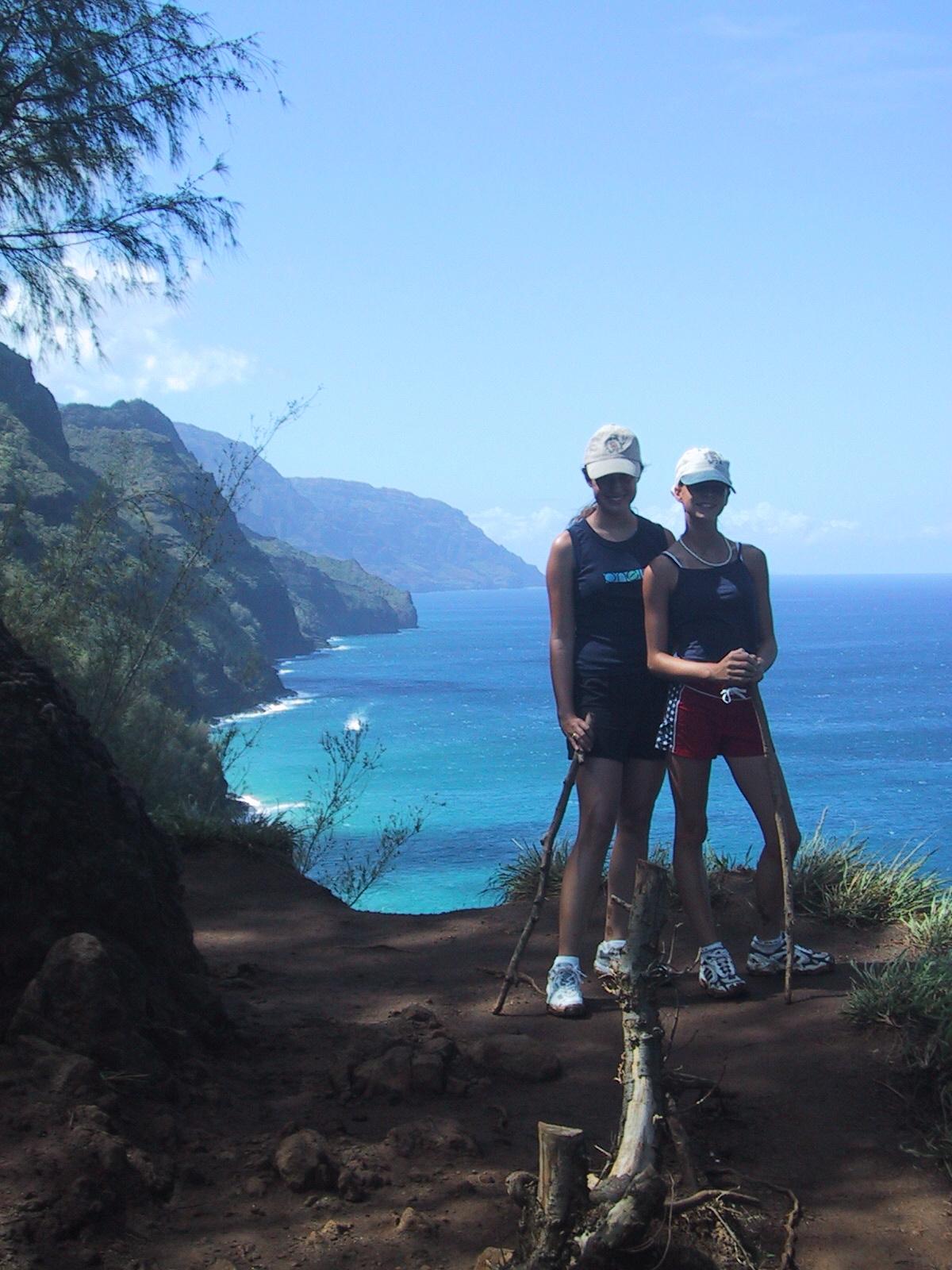 Kalalau Trail overlook
