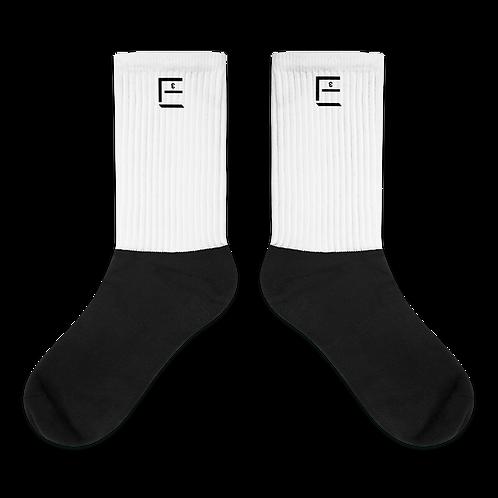 Socks with EƐ Logo