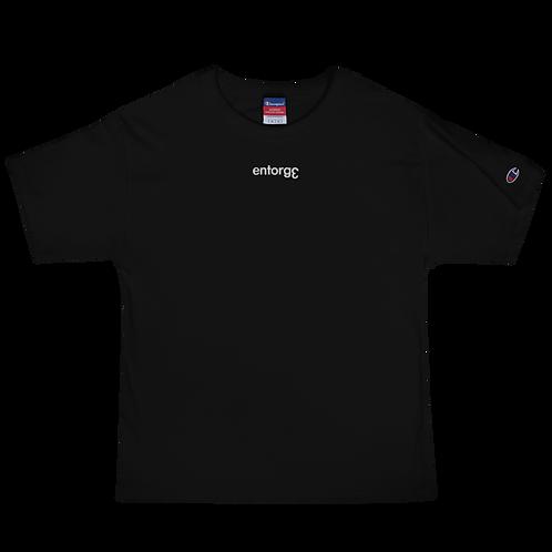 Champion x EntorgƐ T-Shirt Black