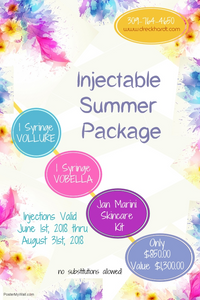 injectable summer package