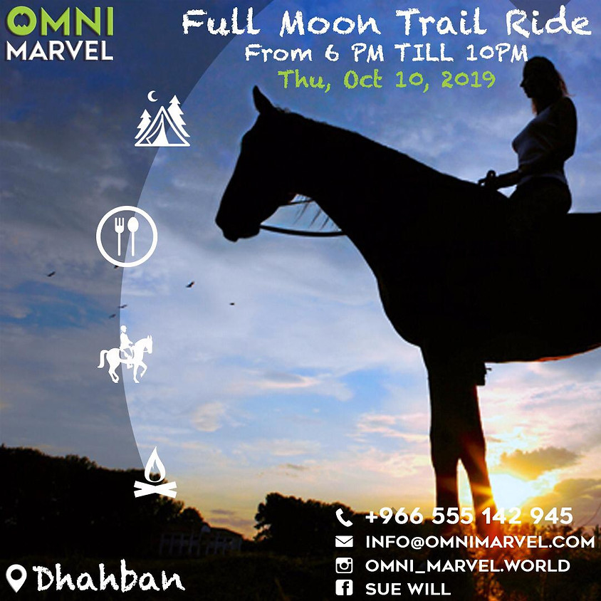 Full Moon Trail Ride Oct 10 2019