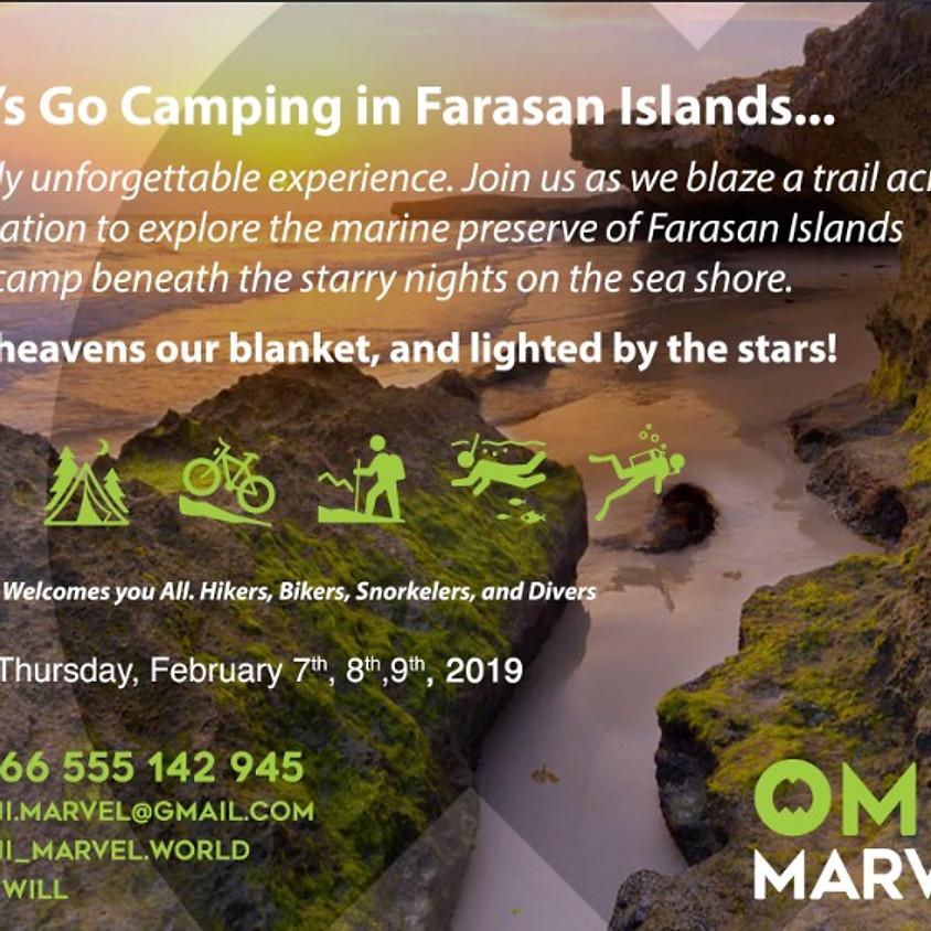 Farasan Island Camping Safari Trip 2