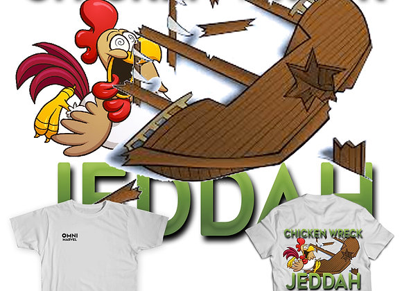 Chicken Wreck Jeddah T-Shirt