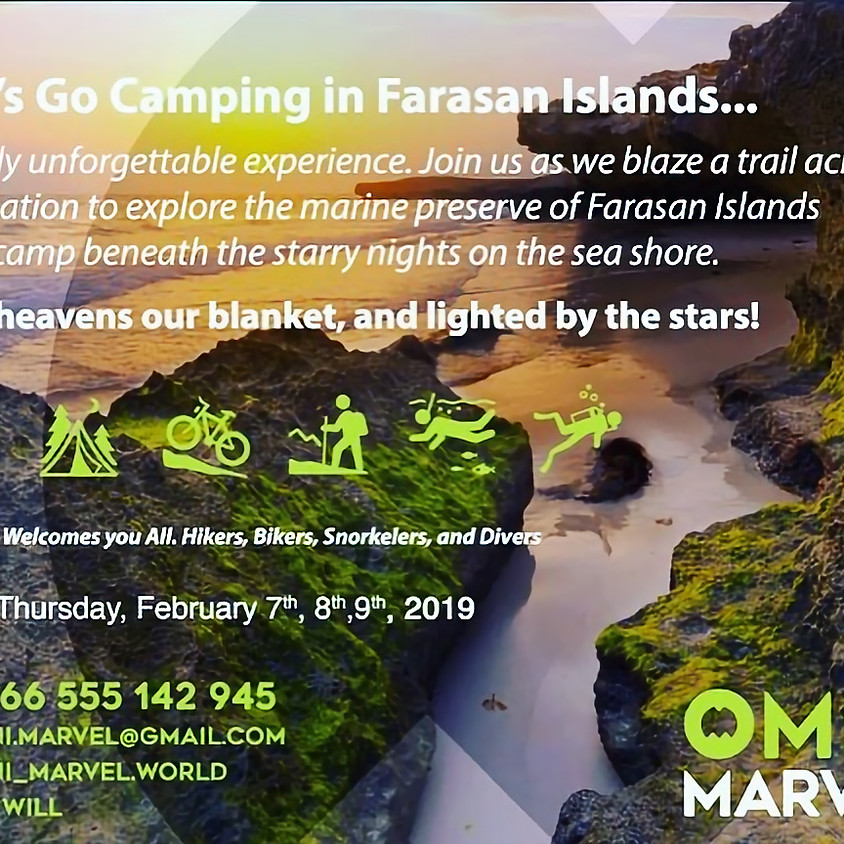 Camping Farasan Islands