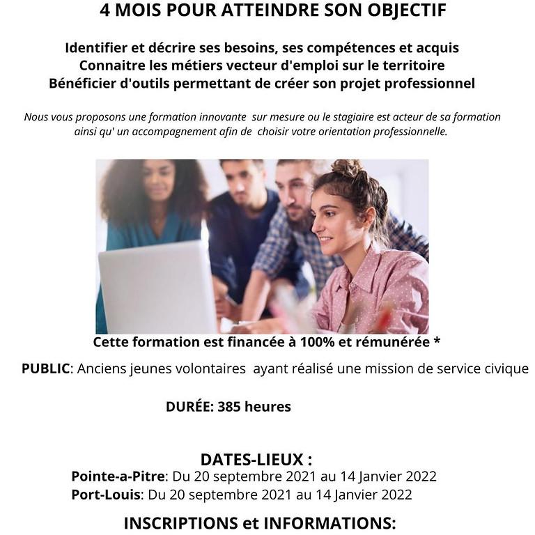 LE MARATHON  DE LA  FORMATION ET  DE  L'INSERTION  4 MOIS  POUR  ATTEINDRE  SON  OBJECTIF