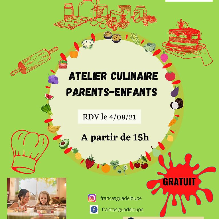 Atelier culinaire Parents-Enfants (Les Abymes)