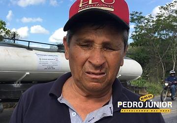 Motorista Zé Ferreira confirmou que cochilou ao volante - Foto: Repórter Pedro Júnior