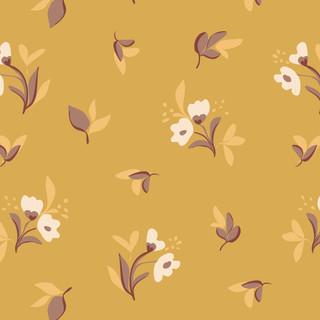 Morning Secret Picnic vector floral patt