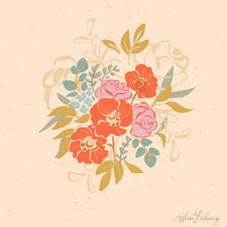 Poppy Boouquet Floral Vector Illustration.jpg