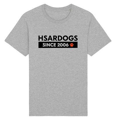 HSARDOGS EST.2006 Light Grey | Unisex T-shirt