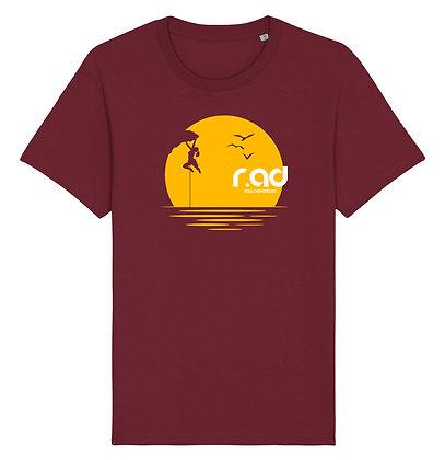 r.ad Sunset Series   Female Climbing T-Shirt