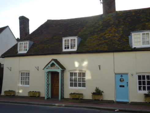 Mill, Hampton & May Cottages today.JPG