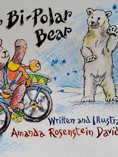 'Bye Bi-Polar Bear' - Front Cover