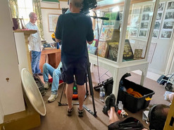 CBBC Monster Stanley visits Rottingdean and meets Mr Kipling