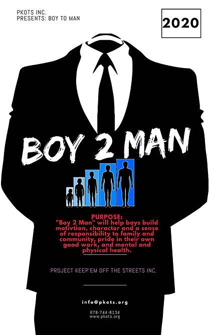 Boy 2 Man Program Registration Fee $25.00