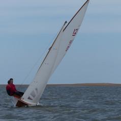 Sharpie racing in Wells-next-the-Sea