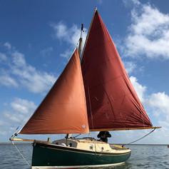 Norfolk Gypsy under sail