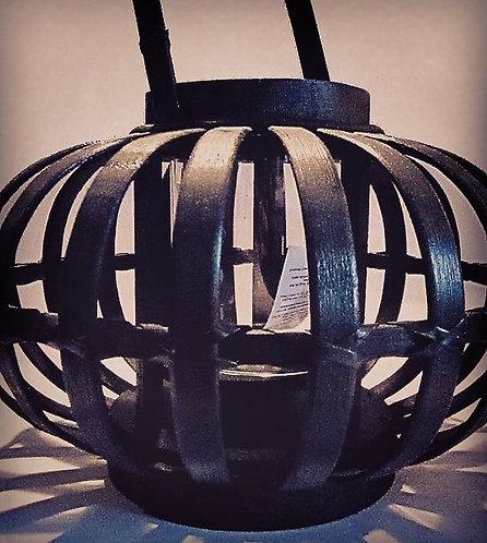 Lanterne scandinave noir