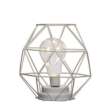 Lampe lanterne métal a LED