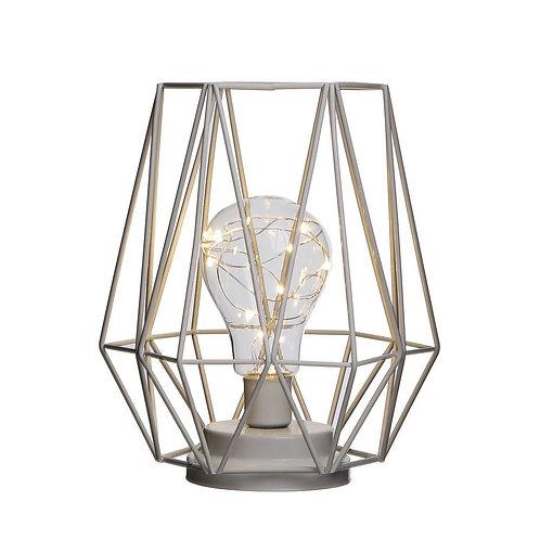 Lampe lanterne en métal