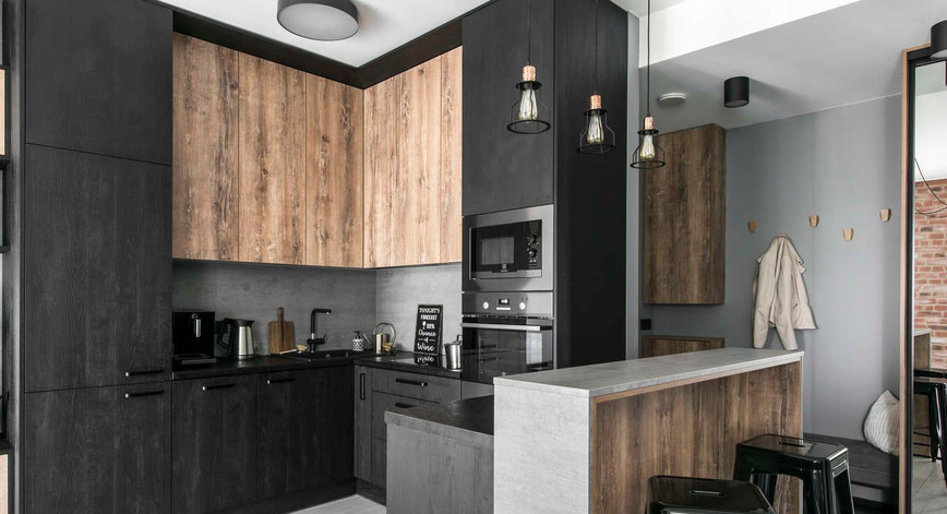 Cuisine avec parquet _ idées meubles et styles.jpg