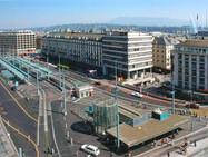 Больше никаких машин на привокзальной площади в Женеве