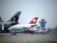Аэропорт Женевы: взлёт не разрешаю...