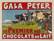 Молочный шоколад родом из Швейцарии