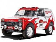 Команда из Швейцарии примет участие в ралли Dakar-2022 на «Лада-Нива»