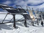 Солнечные батареи в Альпах?