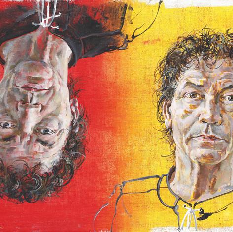 Двойной автопортрет. Ганс Эрни, 1972