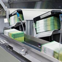 Выпуск пакетов билетов после окончательного контроля