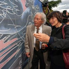 Открытие фрески Х.Эрни в ООН