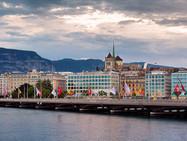Реконструкция моста Монблан в Женеве