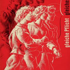 Избирательное право женщин. Да! Ганс Эрни, 1946