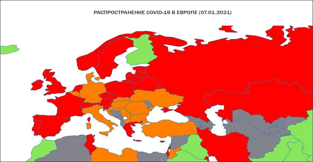 Covid-19 Daily Epidemic Forecasting Europe