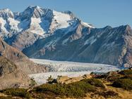Таяние ледников в Альпах открывает новые тайны