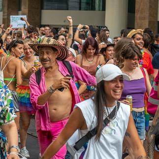 Манифестация LGBT+ в Женеве. Сентябрь 2021