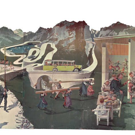 Швейцария - страна отдыха народов. Ганс Эрни, 1939