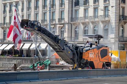 Реконструкция Моста Монблан